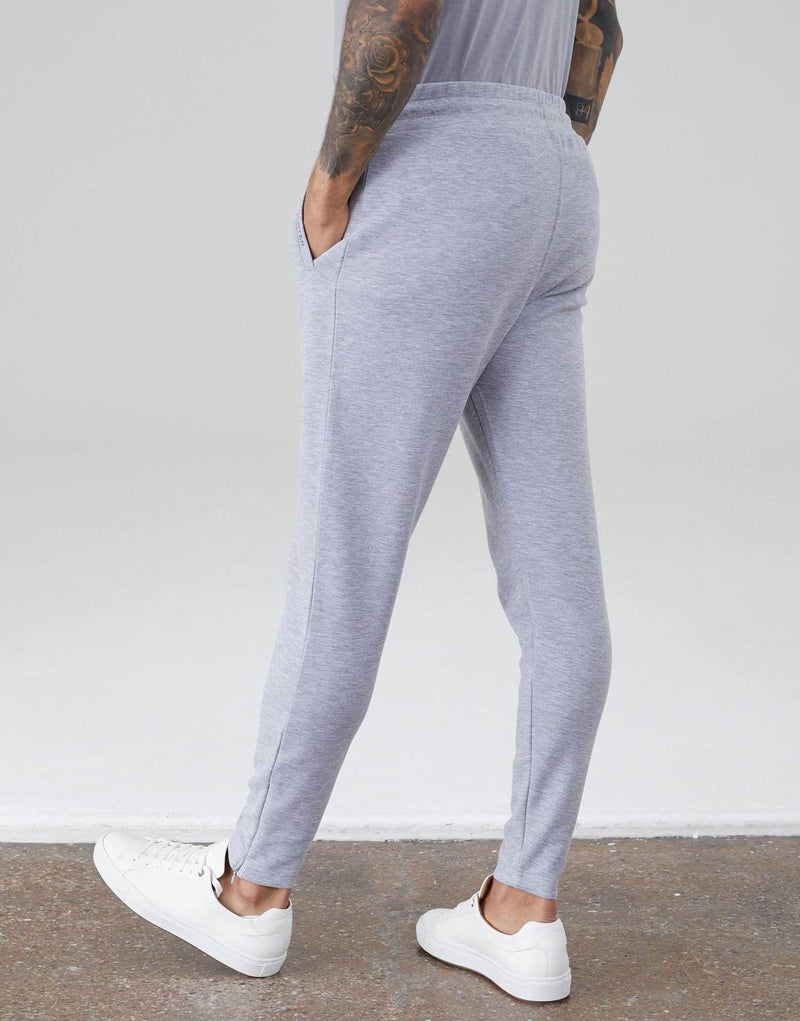 Palmer Interlock Joggers - Grey