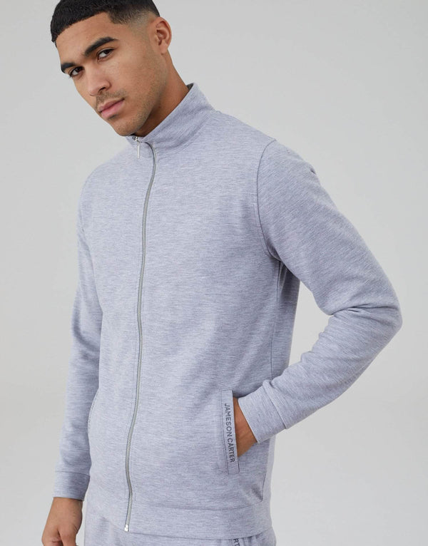 Palmer Tracksuit Full Zip Jacket - Grey