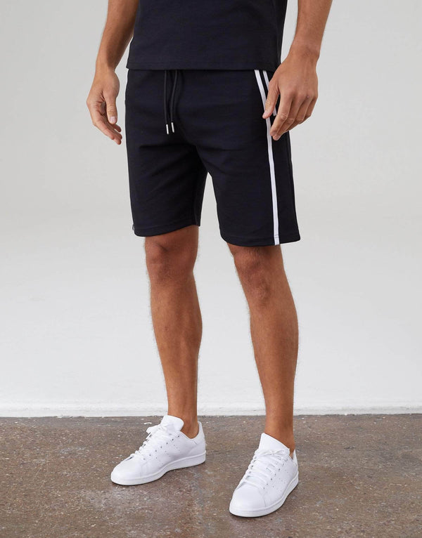 Parlour Twin Set Shorts - Black