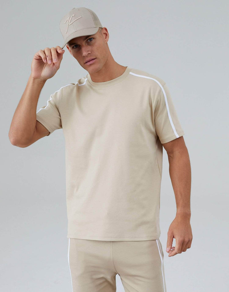Parlour Twin Set T-Shirt - Stone