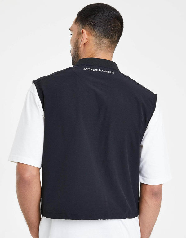 Phantom Combat Gilet Sleeveless Jacket - Black