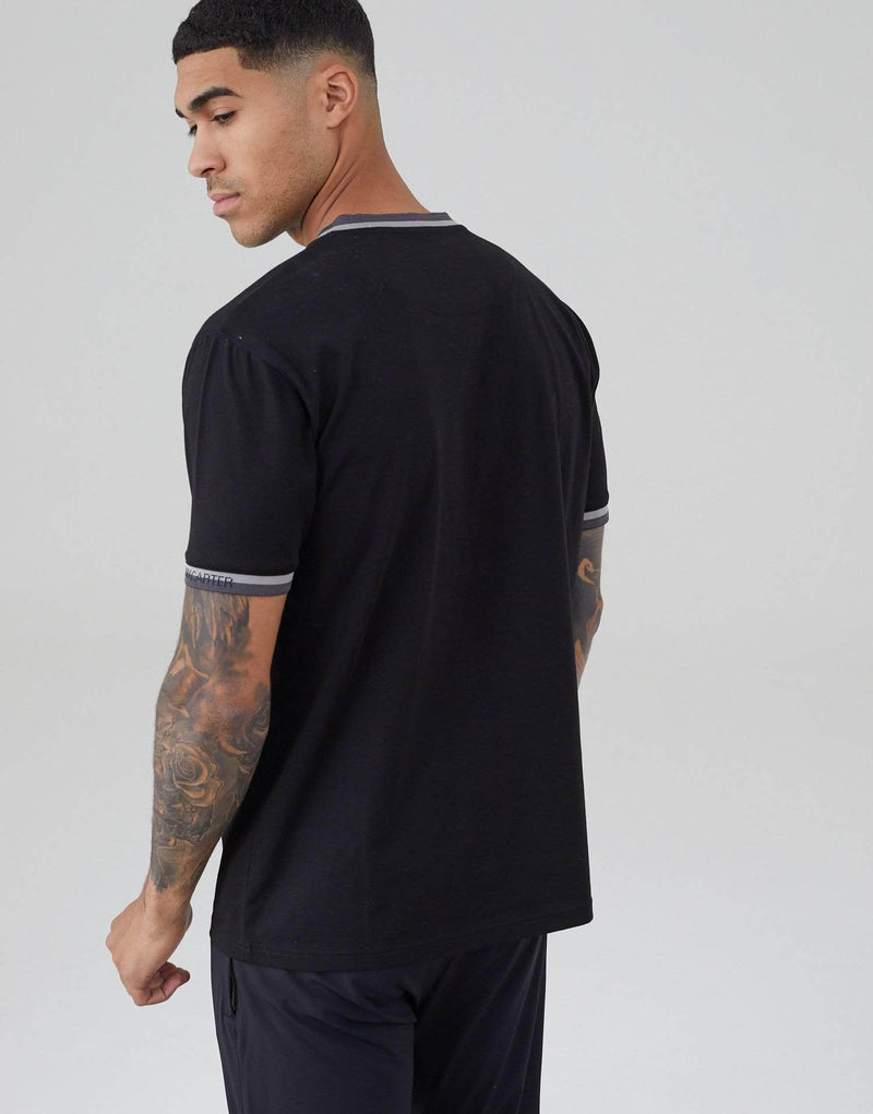 Radial T Shirt - Black
