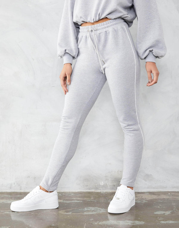 Jameson Carter Womens Tracksuit Pant Ramsey Joggers - Grey