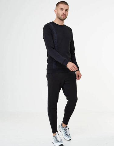 Jameson Carter Jumper, not-sale Roko Crew Neck Sweat - Black
