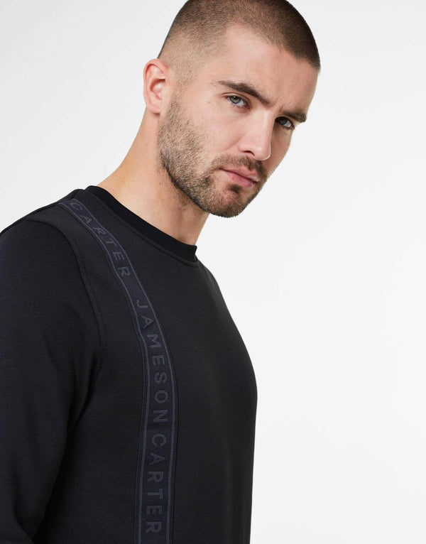 Roko Crew Neck Sweat - Black
