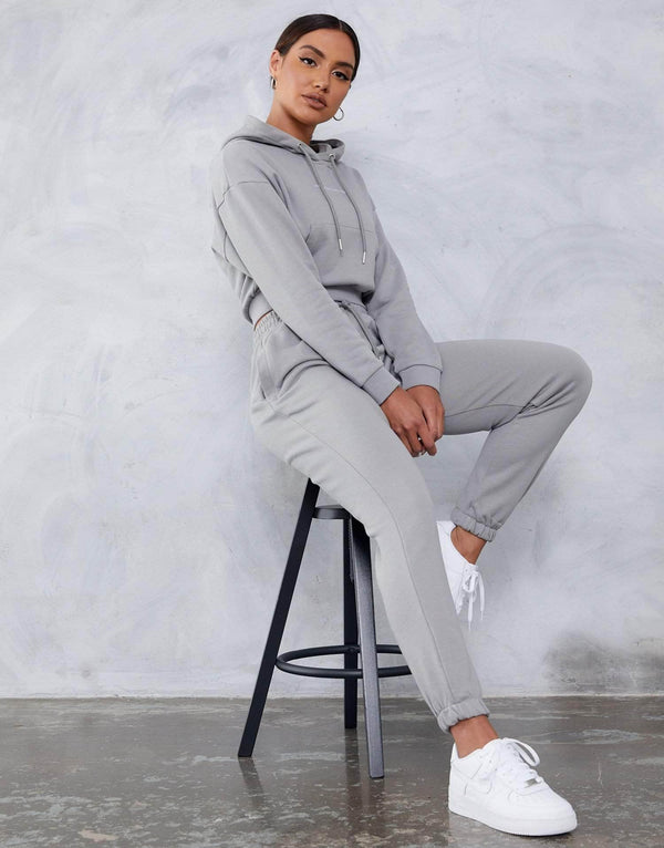 Ruby Joggers - Silver Grey