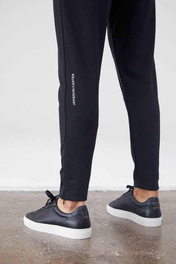 Jameson Carter Tracksuit Pants Shorrock Joggers - Black