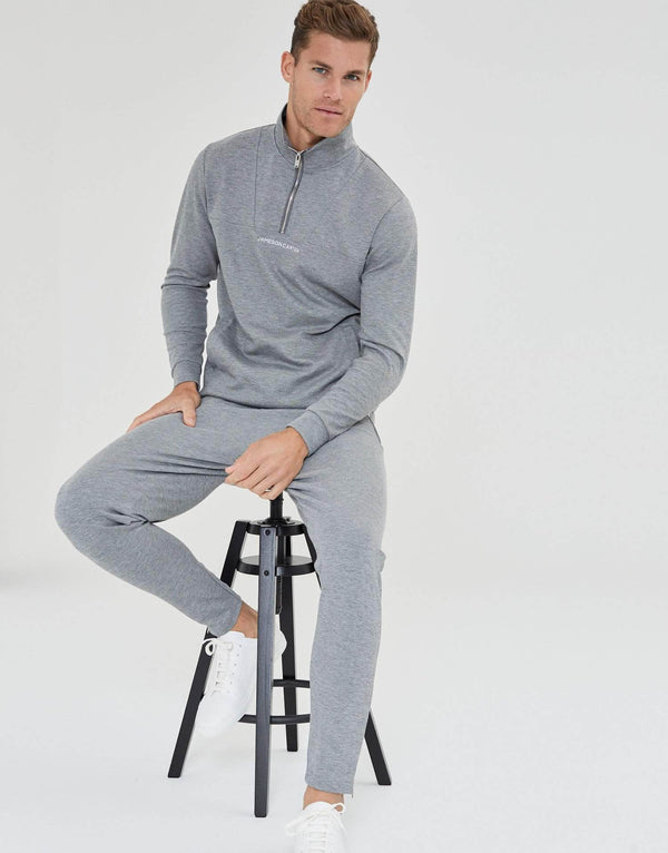 Jameson Carter Tracksuit Pants Shorrock Joggers - Grey