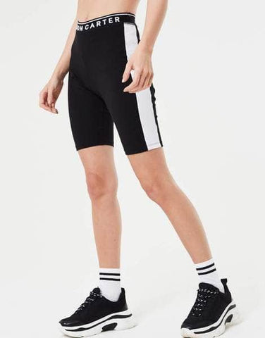 Jameson Carter Side Panel Cycling Shorts - Black