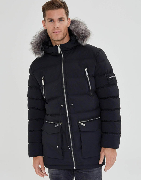 Jameson Carter Coats Toronto Puffer Jacket - Black