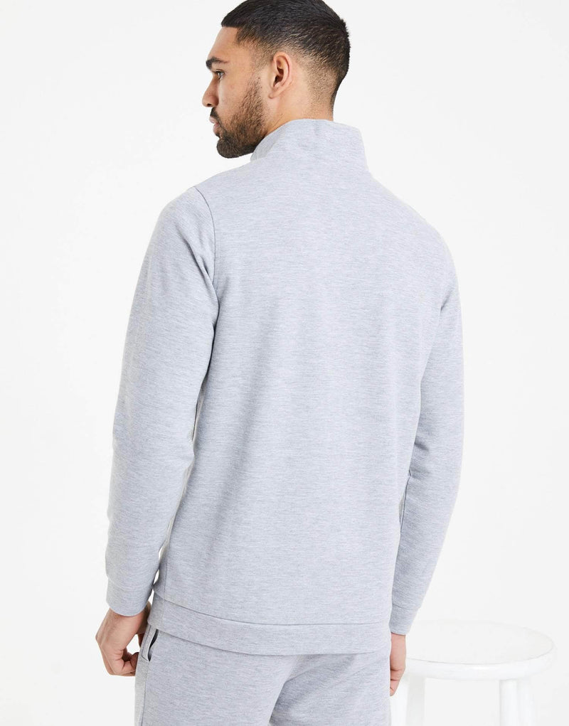 Tullamore Quarter Zip Jacket - Grey