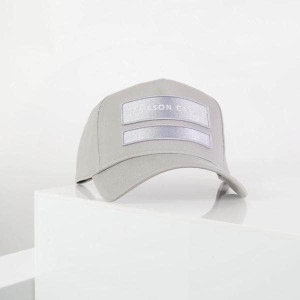 Two Box Trucker Cap - Silver