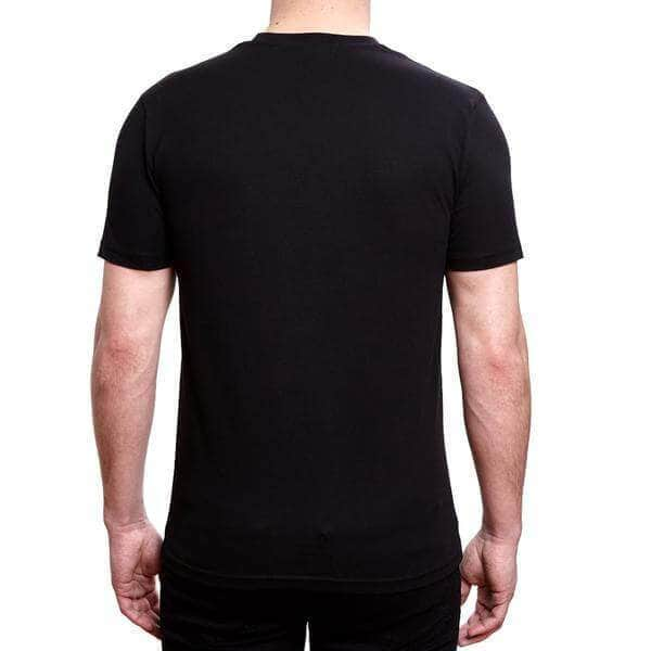 Velour Box T-Shirt - Black