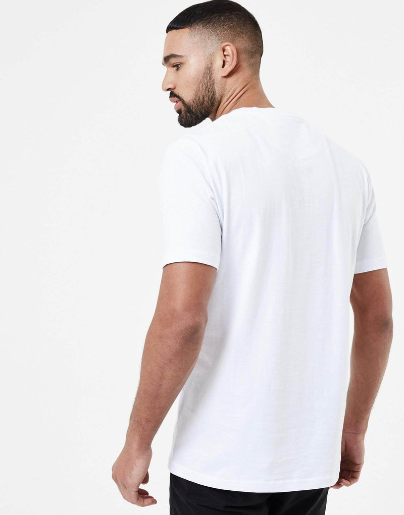 Velour Box T Shirt - White