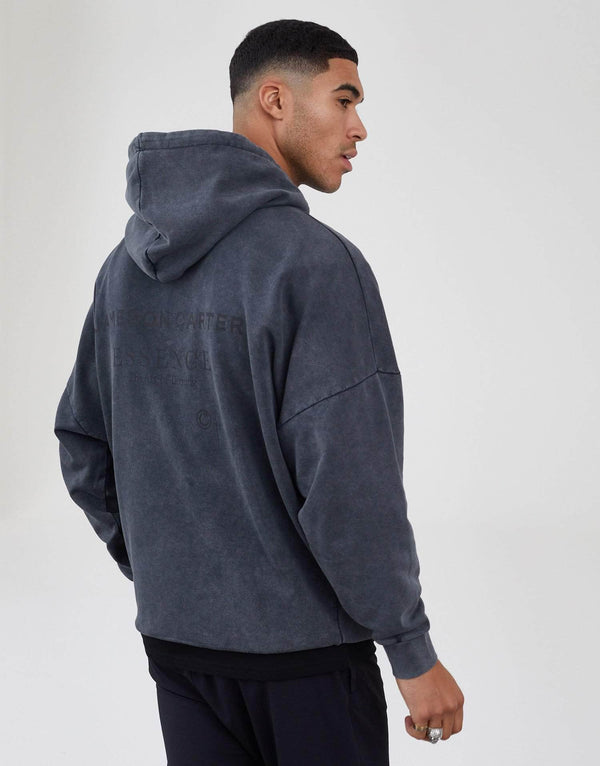Workshop Oversized Hoodie - Acid Wash