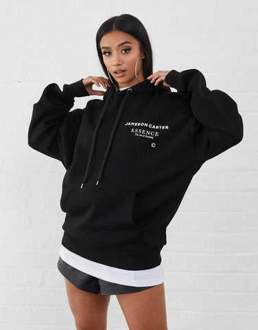 Jameson Carter Hoodies, not-sale Workshop Oversized Hoodie - Black