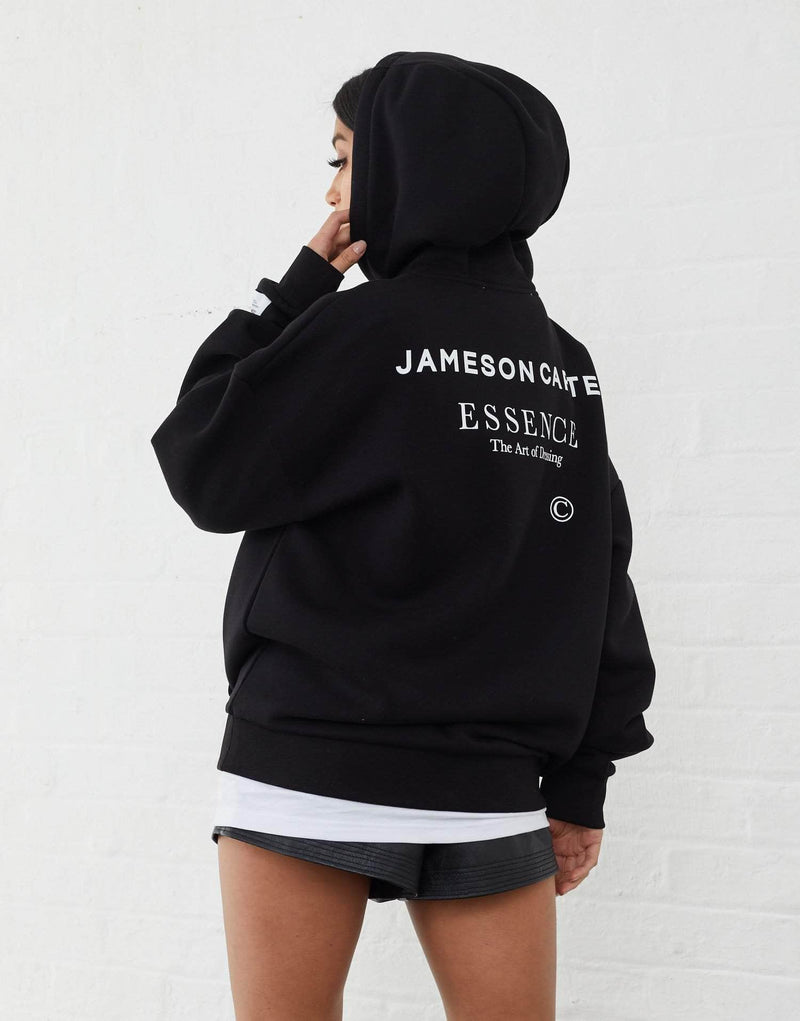 Jameson Carter Women Workshop Oversized Hoodie - Black