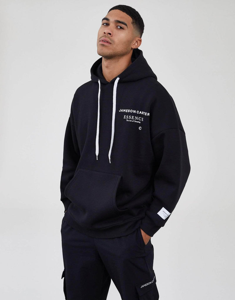 Workshop Oversized Hoodie - Black