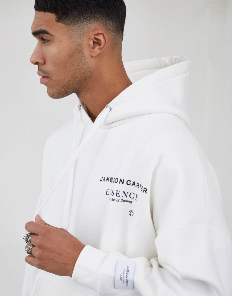 Workshop Oversized Hoodie - Off White