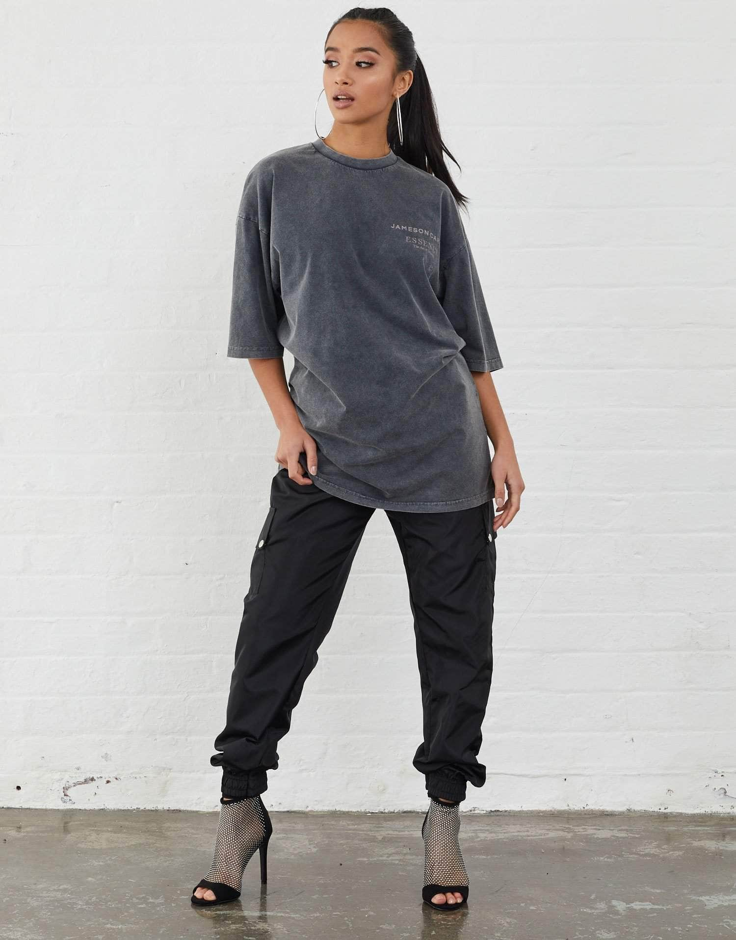 Jameson Carter T-Shirts, not-sale Workshop Oversized T-Shirt - Acid Wash