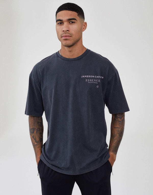 Jameson Carter Men Workshop Oversized T-Shirt - Acid Wash