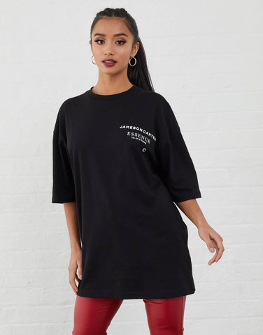 Jameson Carter T-Shirts, not-sale Workshop Oversized T-Shirt - Black