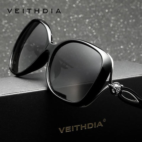 Retro Luxury Designer Vintage Driving Sunglasses Polarized