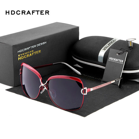 Style Oval Luxury Polarized Sunglasses
