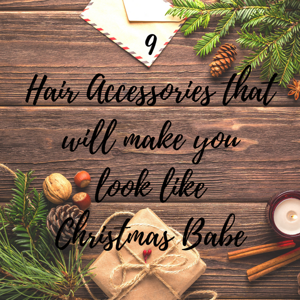 9 Christmas hair accessories that will make you Christmas babe