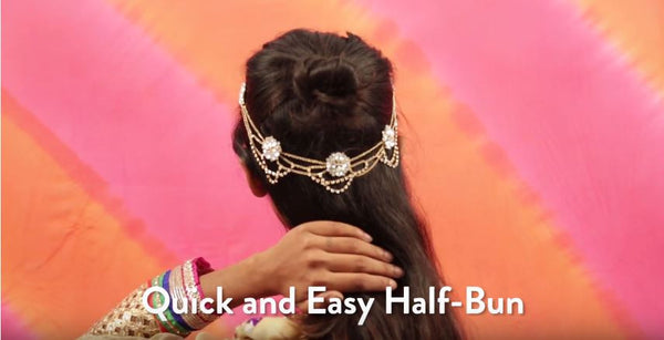 Quick & Easy Half Bun