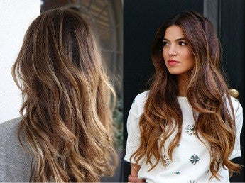 On-Trend Balayage Hair