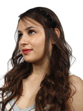 Black Pebbles headband - Hair Drama Company
