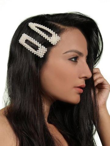 Darcy Hair Clip(set of 2) - Gold