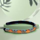 NEON BEAD WORK - HAIR BAND
