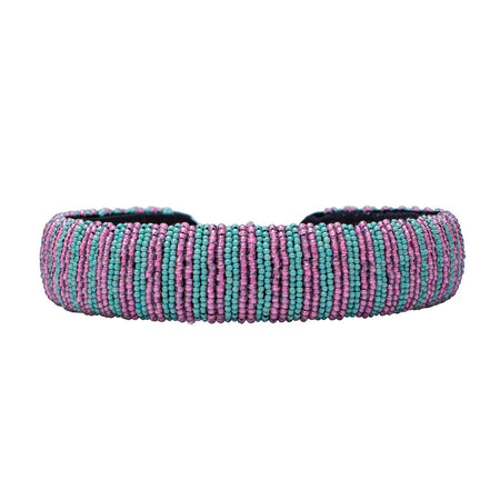Candy Beaded Headband-Broad