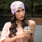 Tie And Dye Turban -Pink