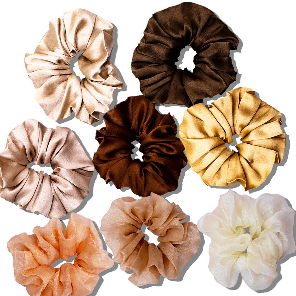 Fall Srunchies - Set of 8