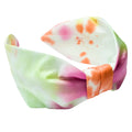 Orange Tie Dye Knotted Headband