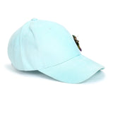 Mint Green Cap with Multicolor Fly - Hair Drama Company