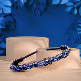 Mindnight Blue Crystal Headband
