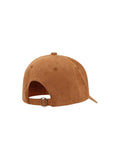 Brown Suede Cap - Hair Drama Company