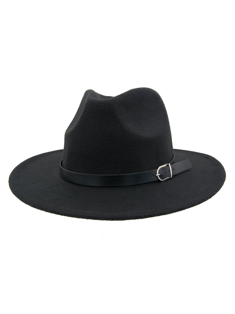 Women Fedora hat-black - Hair Drama Company