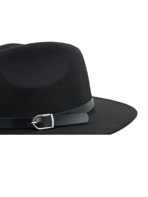Womens Fedora hat black