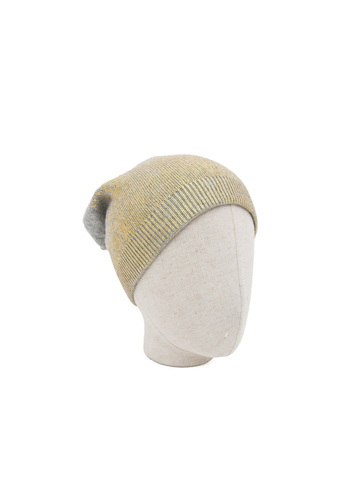Casual Grey Knitted Beanies