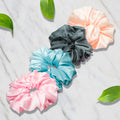 PASTEL SCRUNCHIES SET - SET OF 4