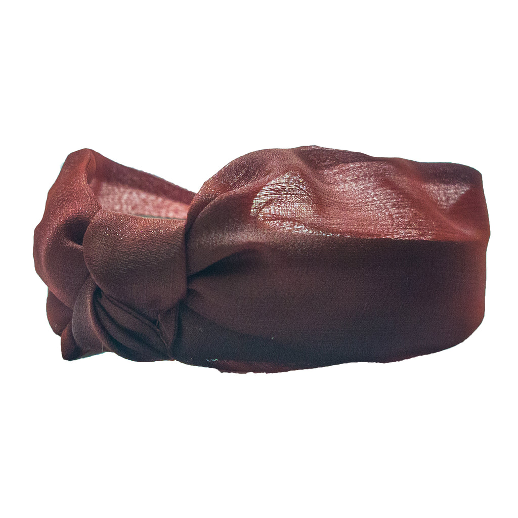 Ruby Organza knotted Headband