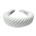 Hair Drama Company Knitted Sponge Turban-Grey - Hair Drama Company