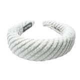 Hair Drama Company Knitted Sponge Turban-Grey