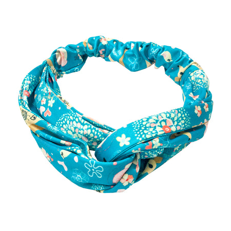 Blue Deer Printed Turban