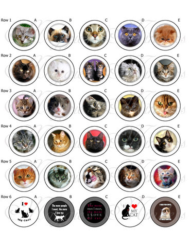 Cats & Kittens Needle Minder Designs